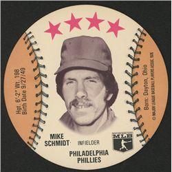 1976 Isaly Discs Mike Schmidt