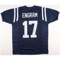 Evan Engram Signed Ole Miss Rebels Jersey (JSA COA)