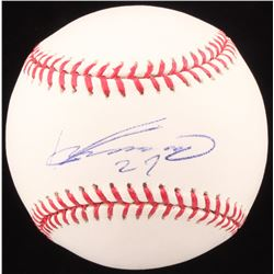 Vladimir Guerrero Signed OML Baseball (JSA COA)