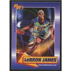 2004 Upper Deck LeBron James Freshman Season #59 LeBron James