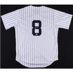 Yogi Berra Signed Yankees Majestic Jersey (PSA COA)