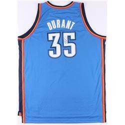 Kevin Durant Signed Adidas Thunder Jersey (JSA COA)