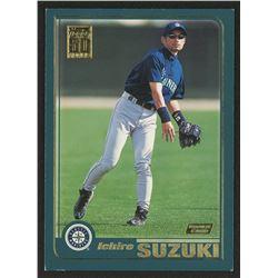 2001 Topps #726 Ichiro Suzuki RC