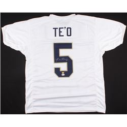 Manti Te'o Signed Notre Dame Fighting Irish Jersey (JSA COA  Teo Hologram)