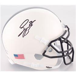 Saquon Barkley Signed Penn State Nittany Lions Mini Helmet (JSA COA)