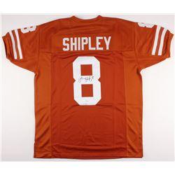 Jordan Shipley Signed Texas Longhorns Jersey (JSA COA)