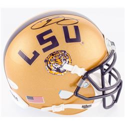 Odell Beckham Jr. Signed LSU Tigers Mini Helmet (JSA COA)