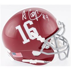 Amari Cooper Signed Alabama Crimson Tide Mini-Helmet (JSA COA)
