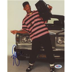 "Will Smith Signed ""The Fresh Prince of Bel-Air"" 8x10 Photo (PSA COA)"