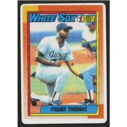 Frank Thomas 1990 Topps #414B LE RC Replica Porcelain Baseball Card