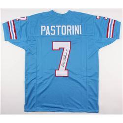 Dan Pastorini Signed Oilers Jersey (JSA COA)