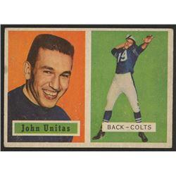 1957 Topps #138 Johnny Unitas DP RC