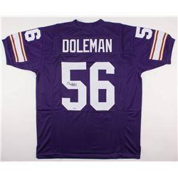 "Chris Doleman Signed Vikings Jersey Inscribed ""HOF 12"" (SGC COA)"