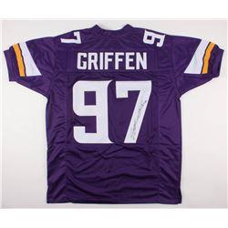 Everson Griffen Signed Vikings Jersey (JSA COA)