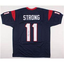 Jaelen Strong Signed Texans Jersey (JSA COA)