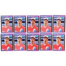 Lot of (10) 1989 Donruss #42 R.Johnson RR RC