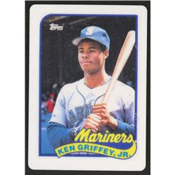 Ken Griffey Jr. 1989 Topps Traded #41T RC Replica Porcelain Baseball Card