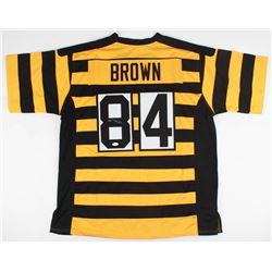 Antonio Brown Signed Steelers Throwback Jersey (JSA COA)