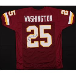 "Joe Washington Signed Redskins Jersey Inscribed ""70 Greatest"" (JSA COA)"