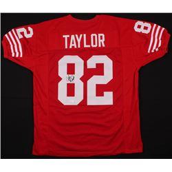 John Taylor Signed 49ers Jersey (JSA COA)