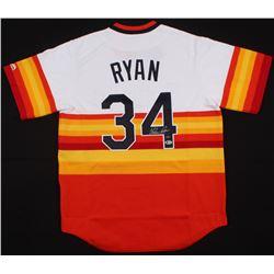 Nolan Ryan Signed Astros Jersey (Beckett COA  Ryan Hologram)