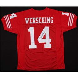 Ray Wersching Signed 49ers Jersey (JSA COA)