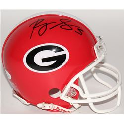 Roquan Smith Signed Georgia Bulldogs Mini-Helmet (JSA COA)