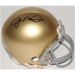 Joe Montana Signed Notre Dame Fighting Irish Mini Helmet (JSA COA)