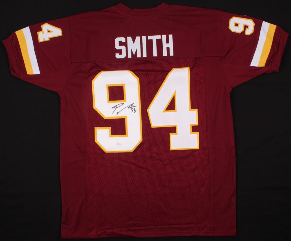 quality design c9fc2 f7190 Preston Smith Signed Redskins Jersey (JSA COA)