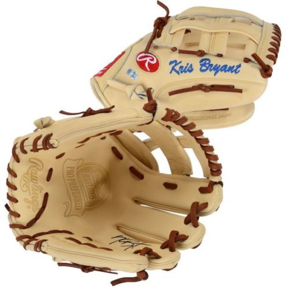 db6c00929 Image 1   Kris Bryant Signed Game Model Baseball Glove (Fanatics Hologram  MLB Hologram)