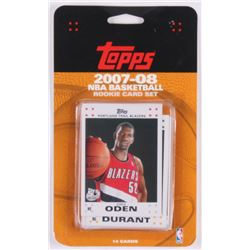 2007-08 Topps NBA Basketball Rooke Card Set of (14)