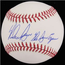 "Nolan Ryan Signed OML Baseball Inscribed ""The Ryan Express"" (Beckett COA  Ryan Hologram)"