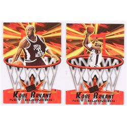 Lot of (2) Kobe Bryant Basketball Cards with 1996 Press Pass Net Burners #13  1996 Press Pass Net Bu