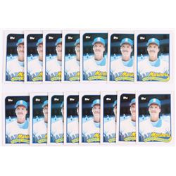 Lot of (15) 1989 Topps Traded #57T Randy Johnson