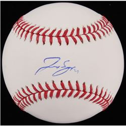 George Springer Signed OML Baseball (Beckett COA)