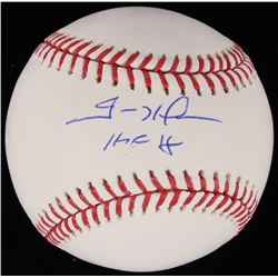 "Trevor Hoffman Signed OML Baseball Inscribed ""HOF 18"" (Beckett COA)"