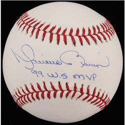 "Mariano Rivera Signed OML Baseball Inscribed ""99 W.S. MVP"" (JSA COA)"