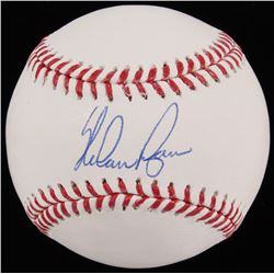 Nolan Ryan Signed 2017 World Series OML Baseball (JSA COA  Ryan Hologram)