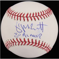 "George Brett Signed OML Baseball Inscribed ""80 AL MVP"" (Beckett COA)"