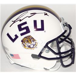 Tyrann Mathieu Signed LSU Tigers Mini Helmet (Beckett COA)