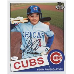 "Thomas Ian Nicholas Signed ""Rookie of the Year"" Cubs 8x10 Photo (JSA COA)"