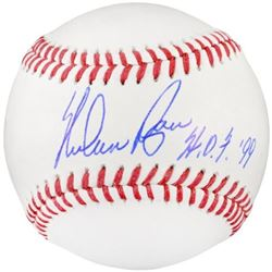 "Nolan Ryan Signed OML Baseball Inscribed ""H.O.F. '99"" (Fanatics Hologram)"