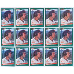Lot of (15) 1986 Donruss Rookies #32 Will Clark RC