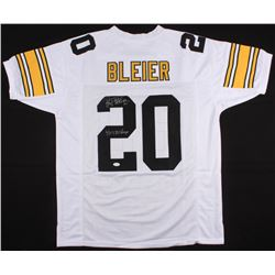 "Rocky Bleier Signed Steelers Jersey Inscribed ""4X SB Champs"" (JSA COA)"