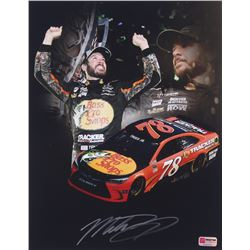 Martin Truex Jr. Signed  NASCAR #78 11x14 Photo (PA COA)
