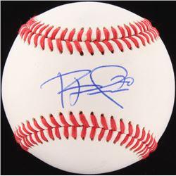 Rhys Hoskins Signed OL Baseball (JSA COA)