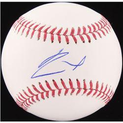 Ronald Acuna Signed OML Baseball (JSA COA)