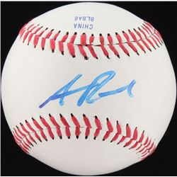 Addison Russell Signed OL Baseball (JSA COA)
