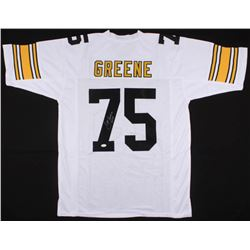 "Joe Greene Signed Steelers Jersey Inscribed ""HOF 87"" (JSA COA)"