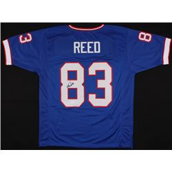 Andre Reed Signed Bills Jersey (JSA COA)